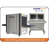 Cheap Security Airport Baggage Scanner , X Ray Luggage Machine With Middle Tunnel 65*50cm for sale