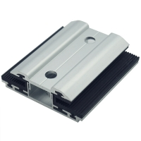Quality Anodized Horizontal Vertical Solar Module Clamps for sale