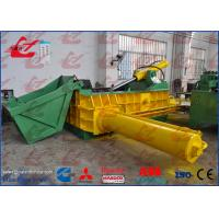 Horizontal Baler Automatic Baling Machine , Steel Baling Press Compact Structure