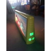 Cheap High Brightness Taxi Top Led Sign Waterproof Double Side Full Color Video 5mm Pixel Pitch wholesale