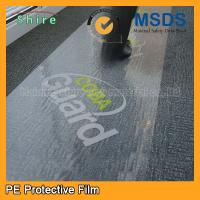 Cheap High Adhesive PE Protective Film For Cars And Residential Carpet Surface wholesale