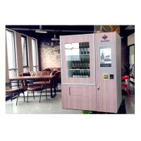 Buy cheap Wine Glass Bottle Vending Machine With Elevator System , Juice Beer Vending from wholesalers