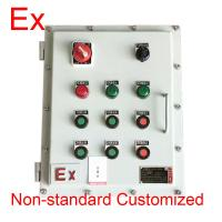 Cheap Chemical Industry Explosion Proof Distribution Box , Low Voltage Flame Proof Panel wholesale
