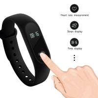 Cheap OLED Smart Bracelet Sport Watch Silica Gel Band For Social Sharing Wechat wholesale