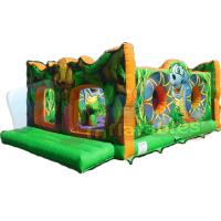 Buy cheap Factory Direct Sell 0.55mm PVC Tarpaulin Animals Playground Jungle Bounce House from wholesalers