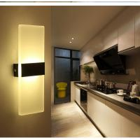 Cheap Square Acrylic LED wall lighting /inside led wall lamps for bedroom or sitting room wholesale