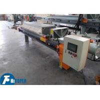 China Air And Liquid Filtration Membrane Filter Press Mine Concentrate Dehydration on sale