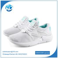 Cheap new design shoes comfortable soft breathable women running sports flying shoes wholesale