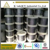 Cheap 0.65-0.8 Manufacturer of 7mm stainless steel wire rope 1x19 wholesale