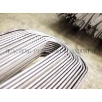 Cheap ERW Weld Steel U Bend Tube For Heat Exchanger OD 25.4mm BS3059 / BS6323-4 / BS3602-1 wholesale