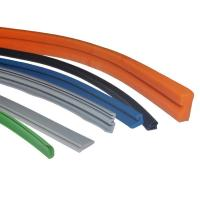 Cheap Tear Resistant Silicone Rubber Extrusions / Silicone Seals with Custom Logo wholesale
