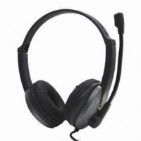 Cheap Multimedia Headset with 3.5mm Audio Plug wholesale