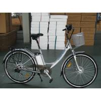 Cheap Li-Ion 1000W Lithium Battery Electric Powered Bicycles For Shopping wholesale