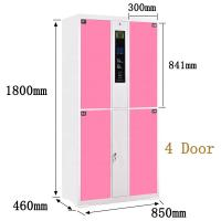 Cheap Four Electronic Safe Locker Fingerprint Identification H1800 * W850 * D460mm Size wholesale