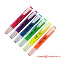 Cheap Cheaper multi-colored highlighter pen for promotion wholesale