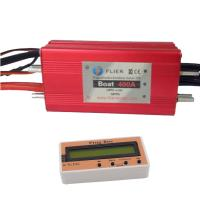 Cheap HV Red Waterproof Brushless ESC 22S 400A 12 Months Warranty For RC Hobby Boat wholesale