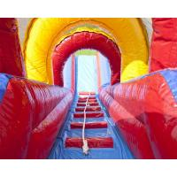 Quality Bright Colors Commercial Inflatable Slide Climbing Slipping Games OEM for sale