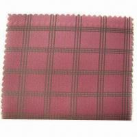 Cheap Polyester viscose dobby lining, various patterns are available, 68D x 120D wholesale