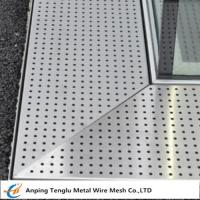 Cheap Perforated Metal Grating Made by Stainless Steel for Constructions wholesale