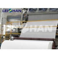 Cheap Full Automatic Tissue Paper Making Machine With Reeling Part CE Certification wholesale