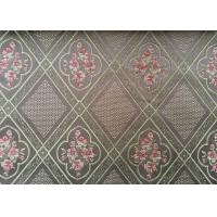 Paisley Jacquard Woven Fabric / Yarn Dyed Fabric For Home Textile