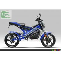 Cheap LS-A1 EEC Folding bicycles 1000W Li-ion Electric Moped Scooter Blue Folding bicycles wholesale