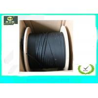 Cheap G657A LSZH Jacket FTTH Indoor Drop Cable , 4 Core Fiber Optic Cable For Telephone wholesale