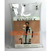 Cheap pvc shopping jelly bag promotional pvc duffle bag with handle, rope handle pvc reusable plastic shopping bag, promotiona wholesale