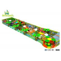 Buy cheap Safe Indoor Wooden Playground , Toddler Play Equipment Custom Design from wholesalers