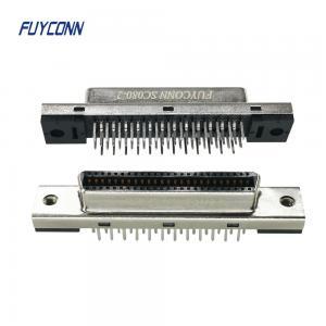 Cheap SCSI Female Vertical PCB Connector, 14P 26P 50P SCSI Connector wholesale