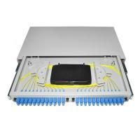 Cheap Pigtail Fiber Optic Patch Panel 19'' Rack Mounted OTB ODB 12 24 Port SC Connector wholesale