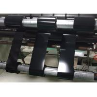 China Black PET Polyester Film Roll , PET Thin Film On Both Sides With Good Shading Effect on sale