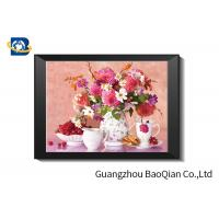 Cheap Eco - friendly Flowers 3D Lenticular Pictures For Home Decoration A3 A4 Size wholesale