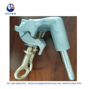 Cheap 185sqm Standard Copper Hot Line Pole Line Hardwares , Hot Line Clamp wholesale