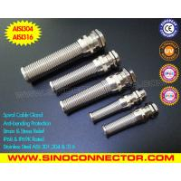 Cheap 304 or 316 Stainless Steel Cable Glands (IP68 / IP69K) with Stainless Steel Protection wholesale