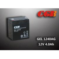 Cheap 4AH GEL1240AG 12v sealed rechargeable battery Maintenance Free For Solar System wholesale