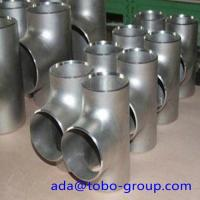 Buy cheap SCH 80 ASTM A403 WP316L Stainless Steel Equal Butt Welding Tee For Gas Oil from wholesalers