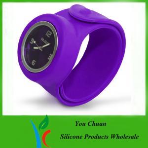 Cheap Slap Band Wristwatch / Snap Watch Bands / Slap Watches For Boys / Girls wholesale