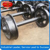 Cheap 762mm guage Mining car wheel sets for sale with the best price in China wholesale