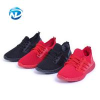 Cheap Light Weight Sports Shoes Lace-up Mesh Fabric Shoes For Ladies wholesale