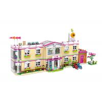 Cheap DIY School Villa Hospital Plastic Building Blocks For Kids Toys 100% Non - Toxic wholesale