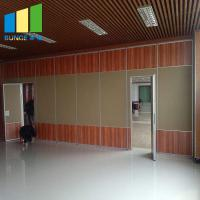 Cheap Aluminium Gypsum Board Fabric Folding Classroom Partitions Soundproofing Movable Wall wholesale