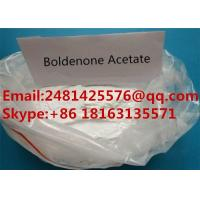 Buy cheap Safe Raw Boldenone Muscle Growth Steroids Boldenone Acetate Powder CAS 2363-59-9 from wholesalers