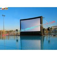 Cheap Large Commercial Inflatable Movie Screen Rentals for outdoor & indoor projection movie use wholesale