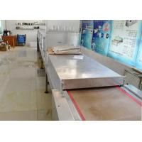 China 80KW Stainless Steel Food Sterilizer Machine Microwave Frequency For Beef Jerky on sale