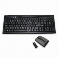 Cheap Computer RF/Bluetooth Keyboard with Excellent Flexibility and Sensitive Keys wholesale