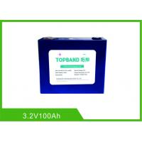 Buy cheap 100Ah 3.2 V Lifepo4 Lithium Rechargeable Battery Cell Long Warranty Low Self Discharge Rate from wholesalers