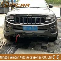 Cheap Steel Material 4X4 Off-Road Accessories Front Bumper Bull Bar For Cherokee 2014+ wholesale