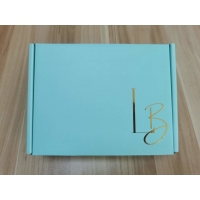 Buy cheap Gold Foil Stamping Rigid Cardboard Box from wholesalers