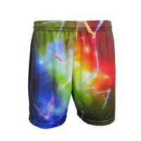 Cheap Colorful Casual Sport Clothes Wide Waist Band Tight Running Shorts Unisex wholesale